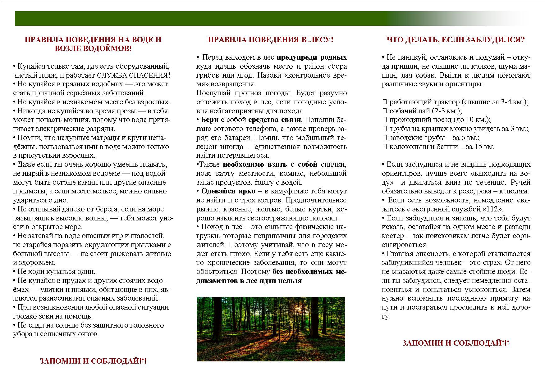 презентация безопасность поведения на водоемах в весенний и летний период